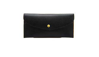 Жіночий гаманець-візитниця 2 в 1 Чорний