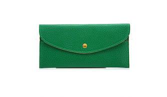 Жіночий гаманець-візитниця 2 в 1 Зелений