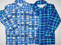 Детские рубашки с начёсом р.32