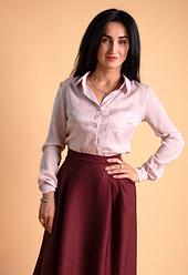 """Классическая женская рубашка """"Ната"""" размеры 42,44,46,48,50"""
