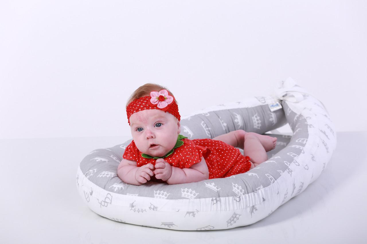 Кокон - гнездышко для новорожденного с коронами
