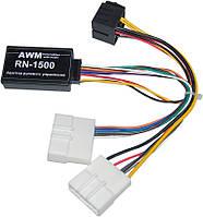 Адаптер кнопок на руле AWM Renault Trafic, Master (RN-1500)