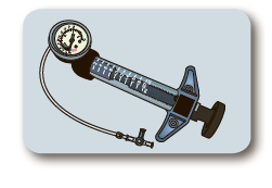 Индифлятор (шприц-манометр) 20 куб.см