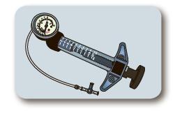 Индифлятор (шприц-манометр) 20 куб. см