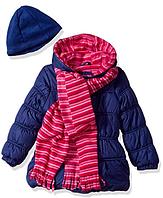 Куртка с шарфом и шапкой Pink Platinum (США) для девочки 2 года, фото 1