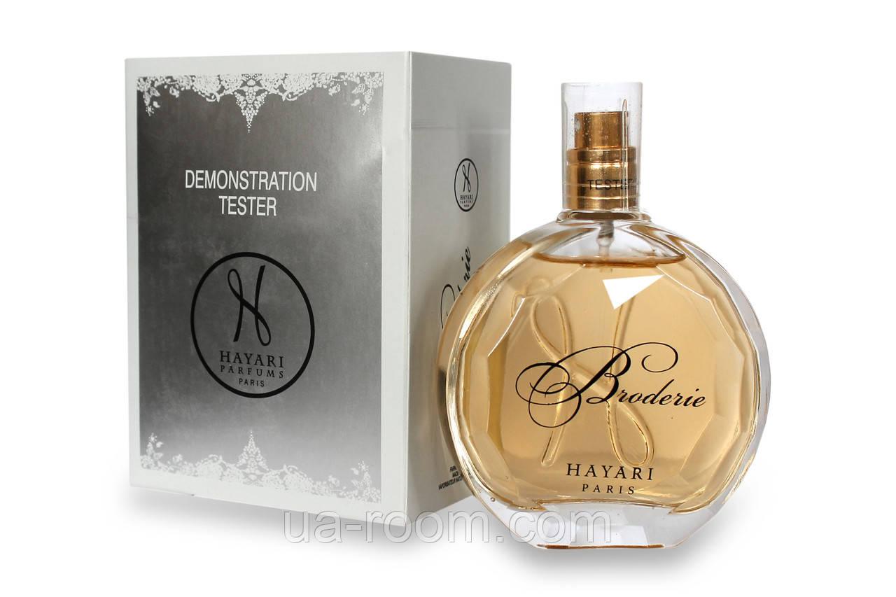 Тестер женский Hayari Parfum Broderie, 100 мл
