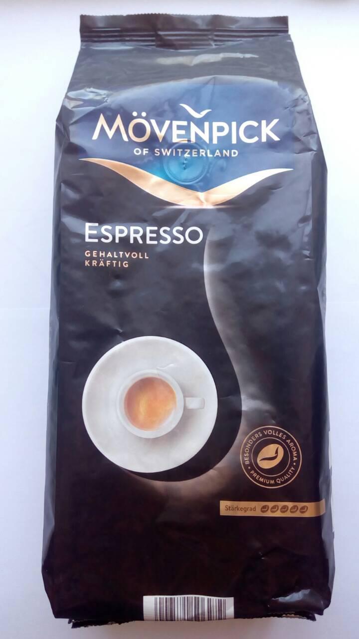 Швейцарский кофе Movenpick Espresso в зернах 1 кг