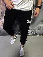 Мужские спортивные штаны Adidas на флисе зима