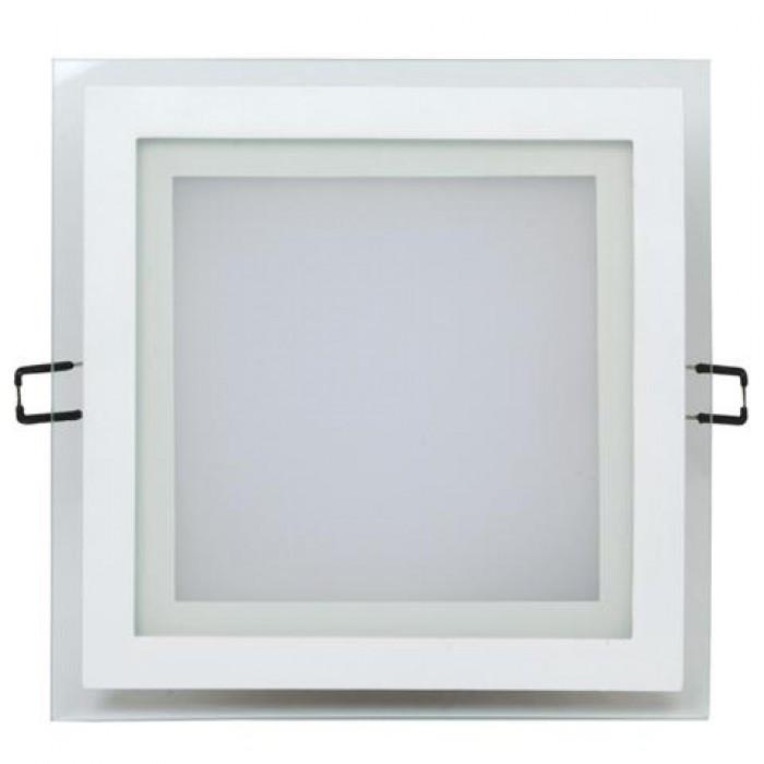 Светильник потолочный LED Horoz MARIA-15  (стекло, квадрат)