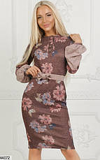 Новинка сезона! шикарное женское демисезонное платье размеры: 42,44,46, фото 2