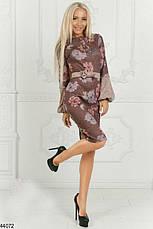 Новинка сезона! шикарное женское демисезонное платье размеры: 42,44,46, фото 3