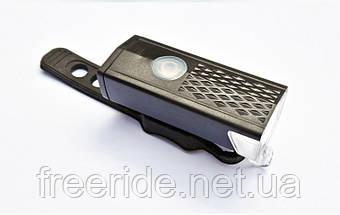 Велосипедный фонарь RAYPAL 300 lumen алюминиевый, 800mAh зарядка от USB, фото 2