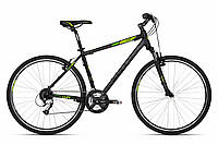 Велосипед Kellys 18 Cliff 70 Black Green 17
