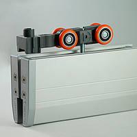 Крепление для  стеклянных раздвижных дверей до 80 кг.