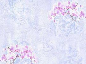 Обои на стену,  бумажные, орхидея, фиолетовый, В 27,4  Элеонора 8130-03, 0,53*10м, фото 3
