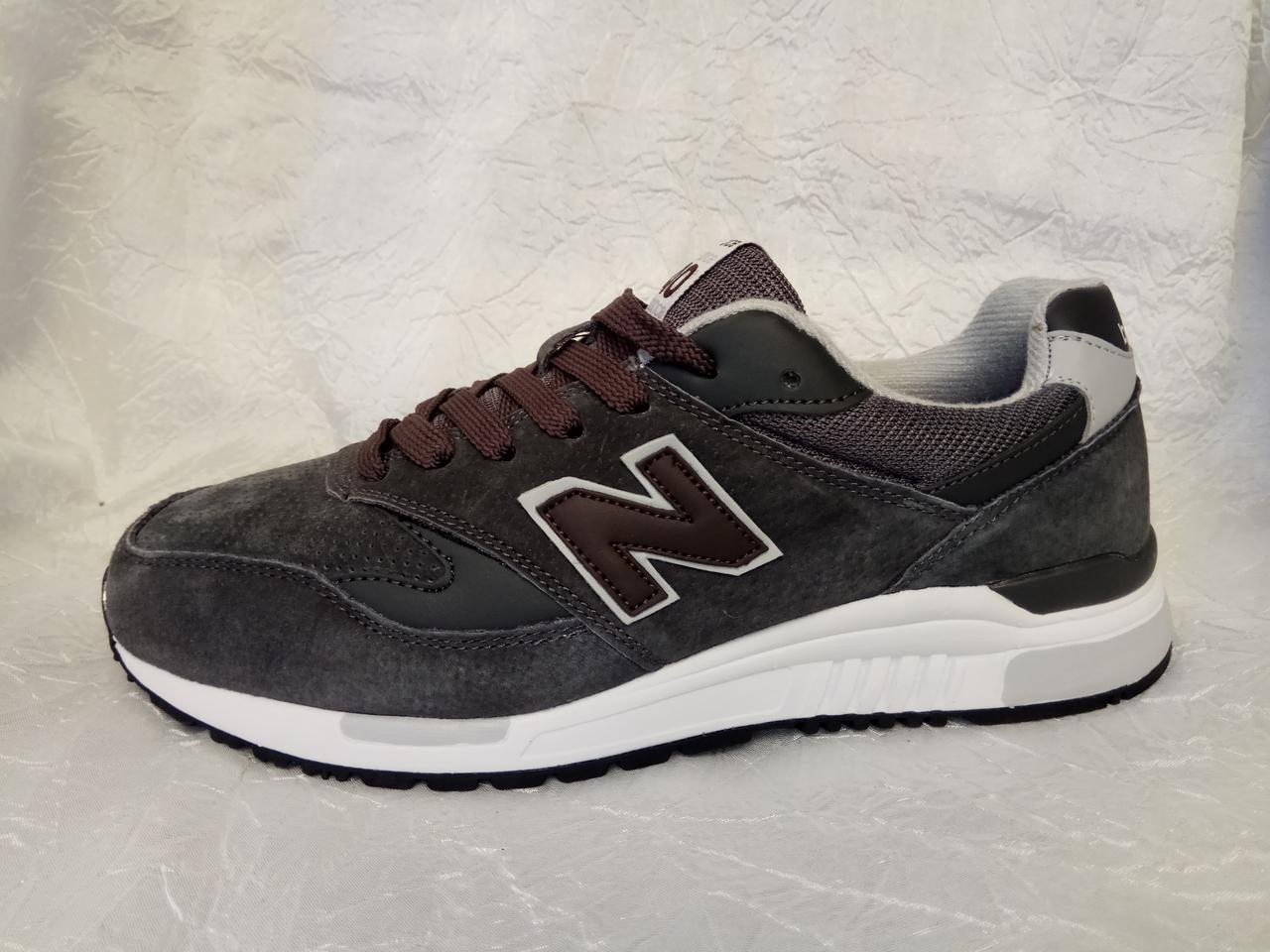 bff700aa2824d5 Мужские кроссовки New Balance 840 серые , размеры с 41 по 45 - Интернет  магазин krossovkiweb