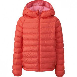 Куртка Uniqlo boys light warm jacket Orange