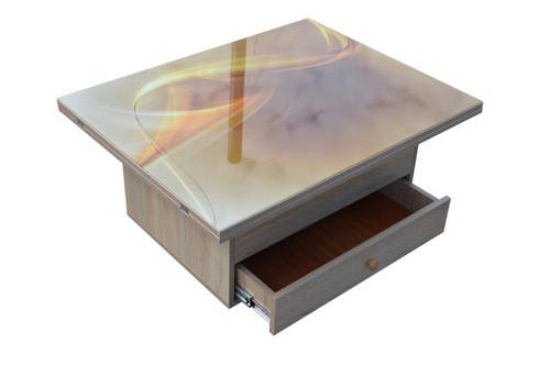 стол-трансформер Агат с ящиком