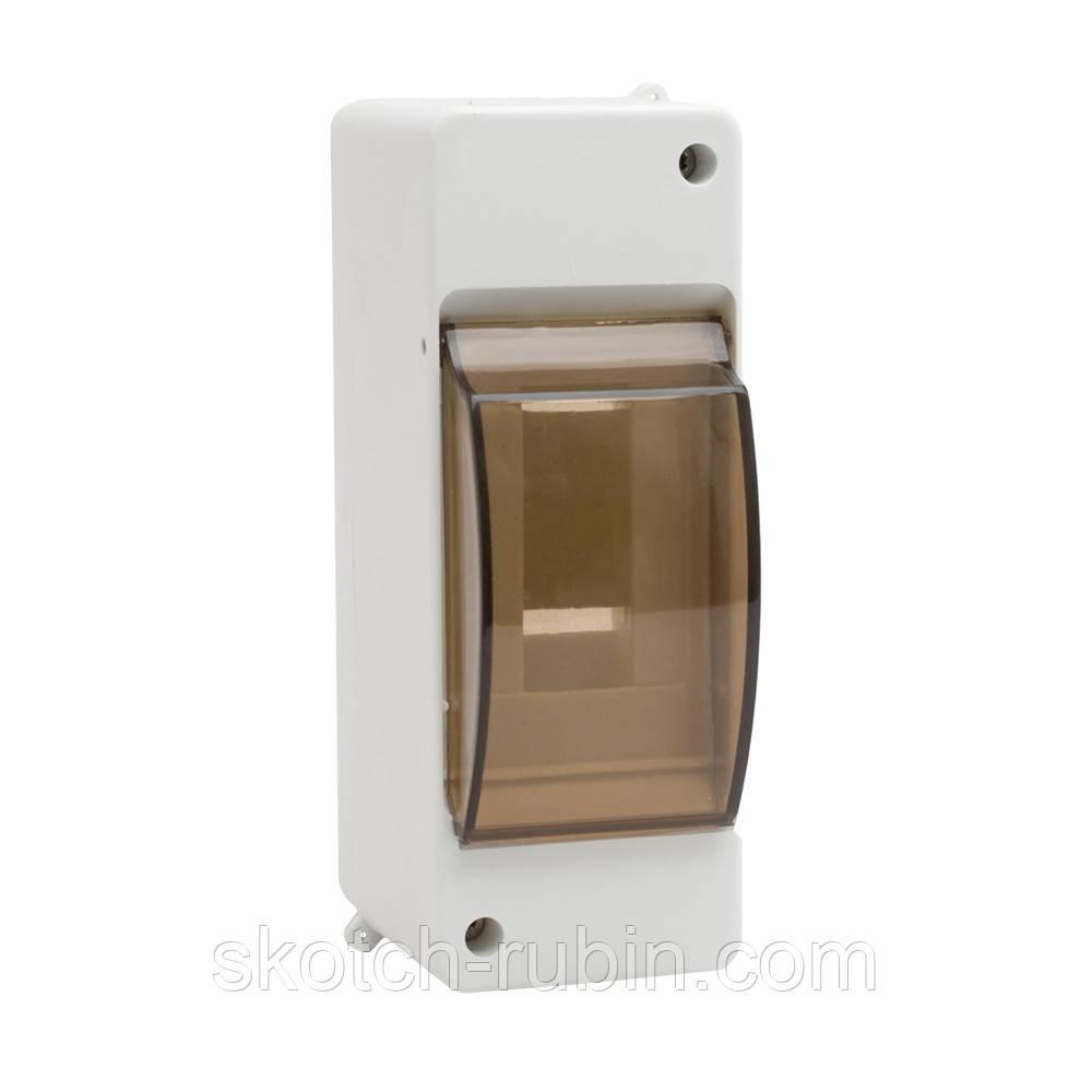 Розподільна коробка для автоматів 1/2 скляна