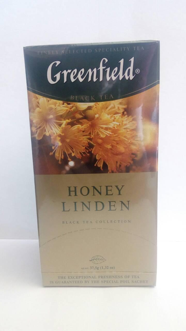 Чай Greenfield Honey Linden 25 пак.