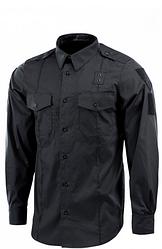 Сорочка поліцейська формений чорна Flex Light Black М-ТАС розмір XL