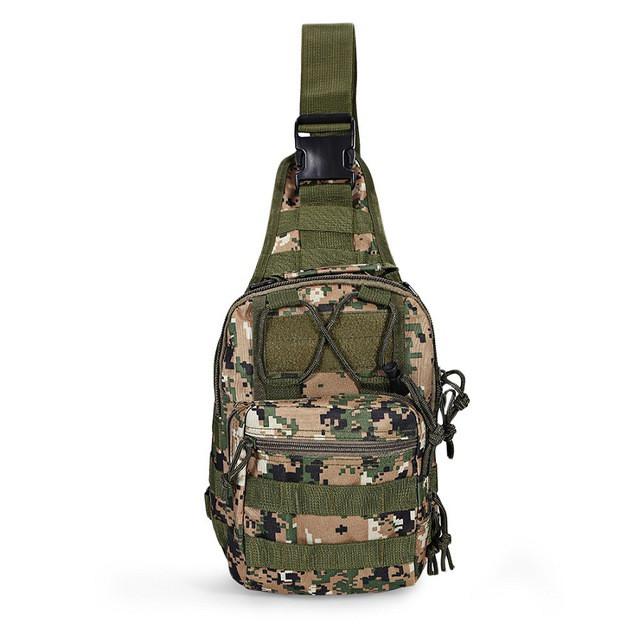 Тактическая военная сумка рюкзак OXFORD N02247 Pixel Forest