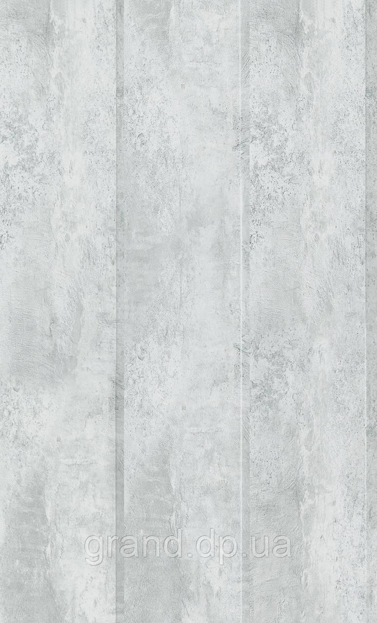 Стеновая Панель МДФ Коллекция Стандарт 148мм*5,5мм*2600мм цвет цемент