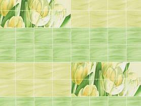 Обои на стену,  бумажные, цветы, зеленый, желтый,  В 56,4  Букет 6531-04, 0,53*10м, фото 3