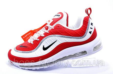 Мужские кроссовки в стиле Nike Air Max 98, Red\White , фото 2
