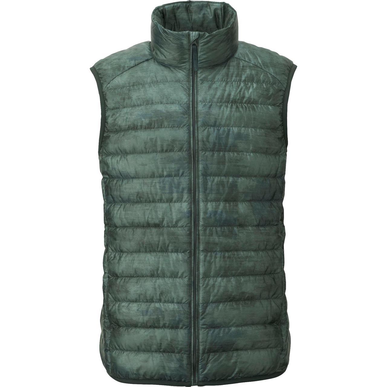 Жилетка Uniqlo men ultra light down vest OLIVE