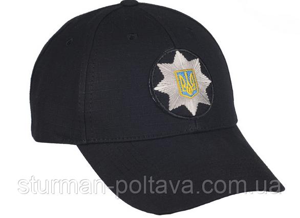 Бейсболка поліція з шевроном (M-TAC)