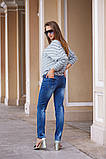 Женские модные джинсы 46,48,50р. Турция, фото 2