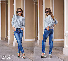 Женские модные джинсы 46,48,50р. Турция