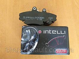 Тормозные колодки передние Intelli D339E 6001547619; 6001547911; 7701208265