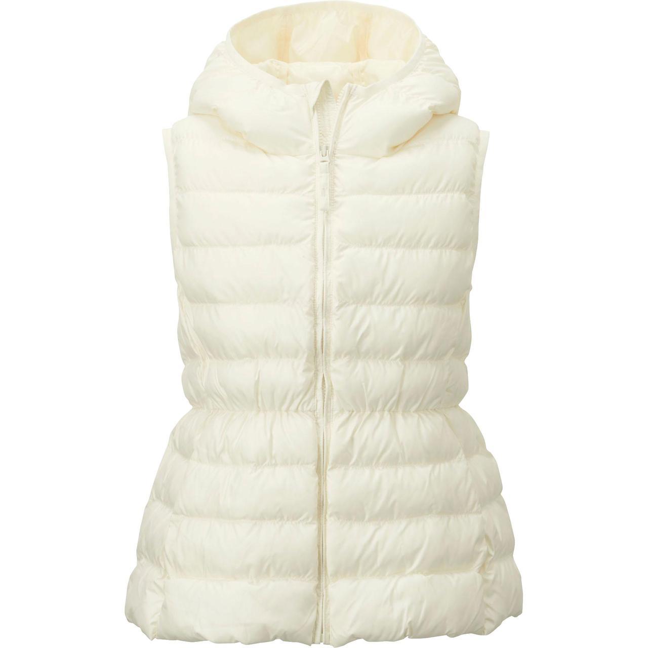 Жилетка Uniqlo girls light warm padded White
