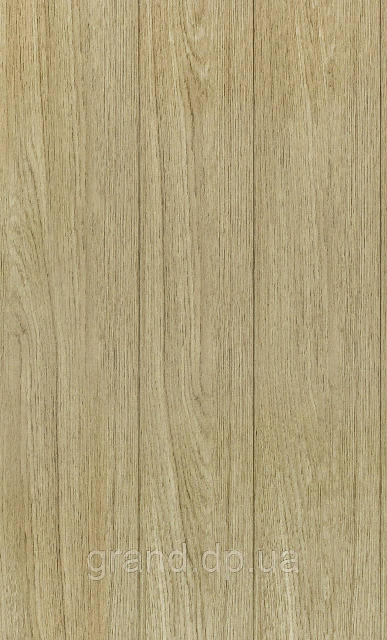 Стеновая Панель МДФ Коллекция Стандарт 148мм*5,5мм*2600мм цвет дуб сафари