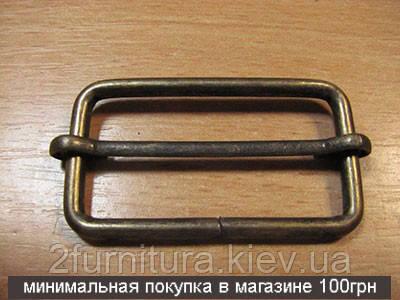 Регуляторы для сумок (40мм) антик, 20шт 4185