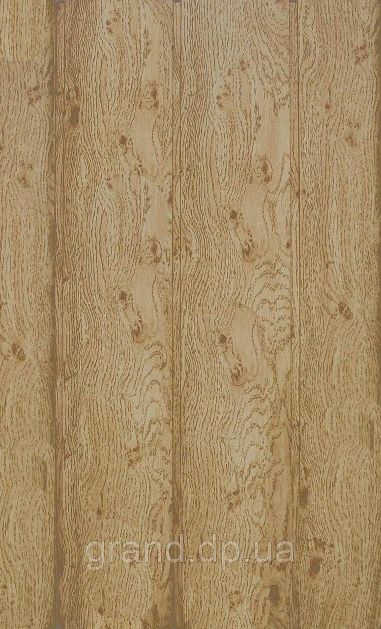 Стеновая Панель МДФ Коллекция Стандарт  148мм*5,5мм*2600мм цвет дуб сучковатый темный