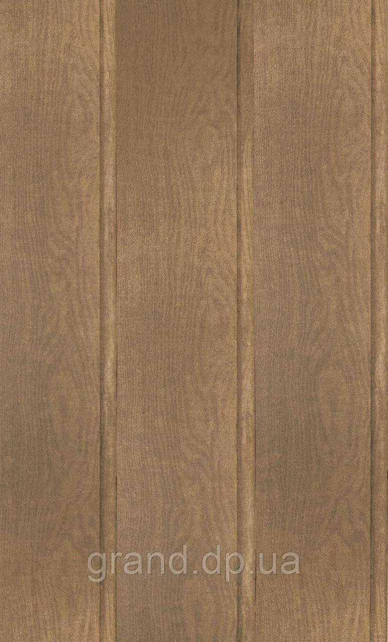 Стеновая Панель МДФ Коллекция Стандарт 148мм*5,5мм*2600мм цвет дуб