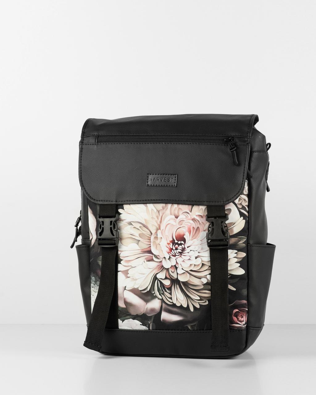 Жіночий рюкзак HARVEST UNIVERSAL MINI для ноутбука флорал Floral 42x28x12 см. 16 л. поліестр екошкіра