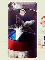 Чехол с рисунком для Oukitel K7000 Щит Капитана Америки