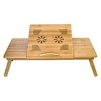 Столик для ноутбука с двумя вентиляторами