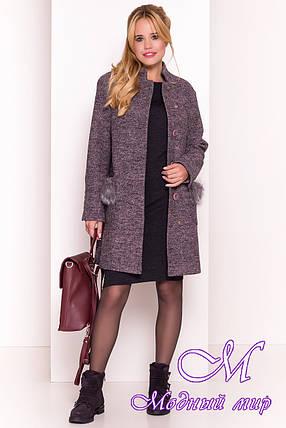 Демисезонное женское пальто (р. S, M, L) арт. Этель 4369 - 34114, фото 2
