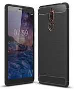 Чехол на Nokia 7 - Black