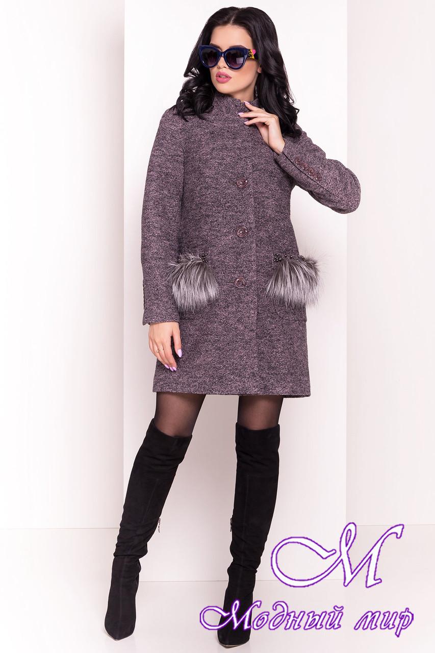 Стильное демисезонное женское пальто (р. S, M, L) арт. Этель 4369 - 21055