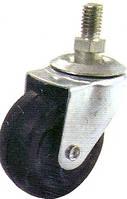 Ролик d-50 с винтом М10 мм резиновый с подшипником HTS