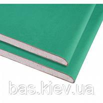 KNAUF Гипсокартон потолочный влагостойкий 2000х1200х9.5 мм