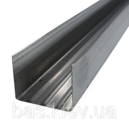 Профиль для гипсокартона направляющий UD 27 (0.4 мм) , 4м