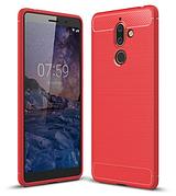 Чехол на Nokia 7+ Plus Red