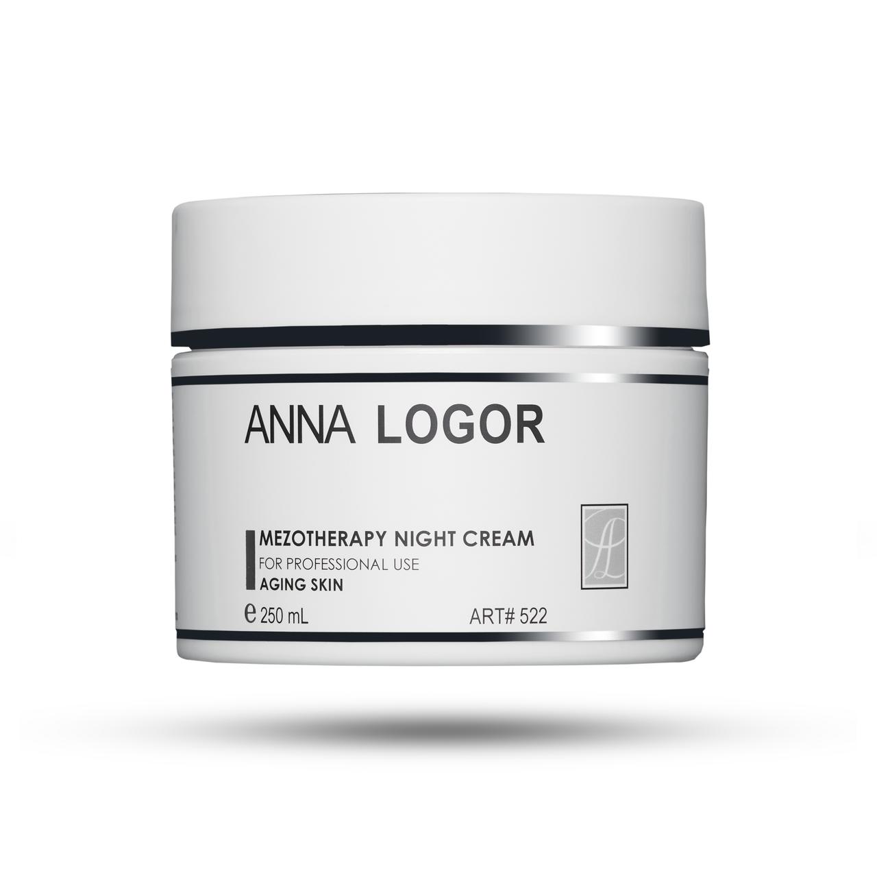 Крем ночной омолаживающий Anna LOGOR Mezotherapy Night Crem 250 ml Art. 522